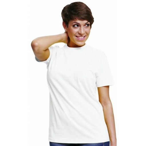 Női rövid ujjú póló - fehér színben