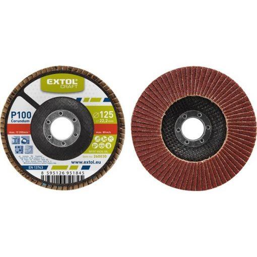 Extol-Craft-lamellas-csiszolo-P100