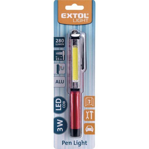 Extol LED lámpa - 3W COB - 280 Lumen