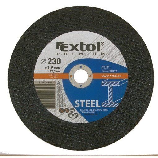 Extol-Premium-vagokorong-acelhoz/inoxhoz-115mm