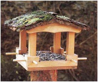 Hogyan építsünk madáretetőt házilag?